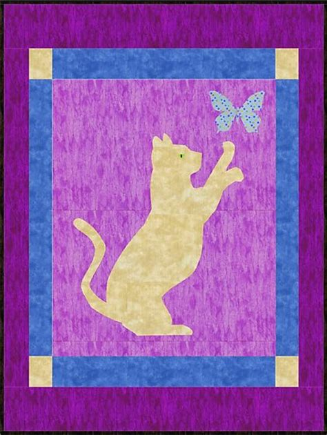 Caterpillar Quilt Pattern by Cat Quilt Patterns Images Quilts Dogs And Cats