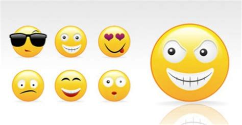plantilla de emoticones para photoshop psd plantilla