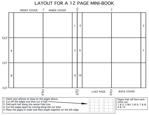 mini book template 27 images of mini book template adornpixels