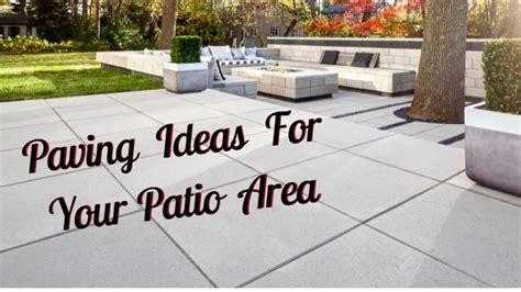 patio area ideas paving ideas for your patio area