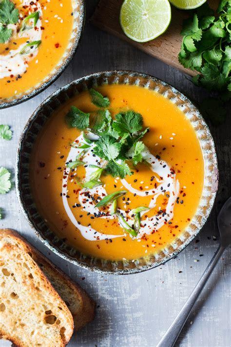 miso pumpkin soup lazy cat kitchen