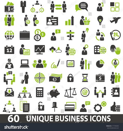 business icons stock vector more images of 524533800 istock set 60 business icons stock vector 171794354