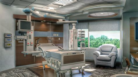 icu room cgarchitect professional 3d architectural visualization user community icu room
