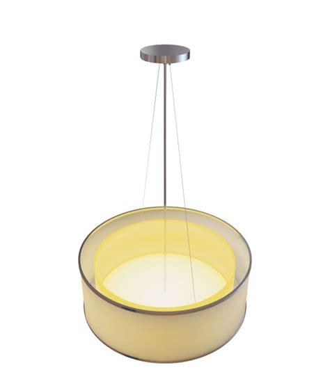 yellow drum pendant 3d model 3ds max files free