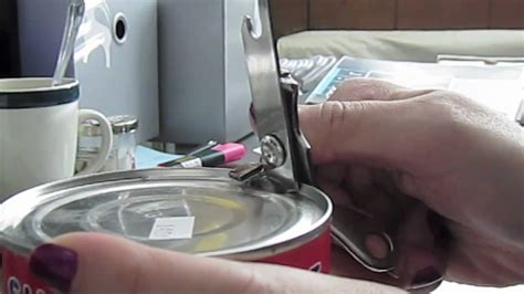 can opener use how to use goodcook mini can opener