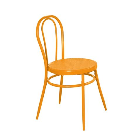 cafe stuhl caf 233 stuhl orange