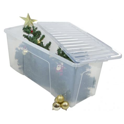 christmas tree storage box minimalist interior with