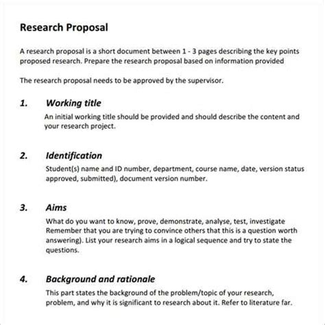 research paper proposal template source