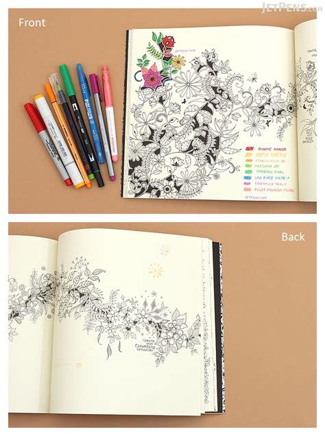 secret garden coloring book usa enchanted forest an inky quest coloring book johanna