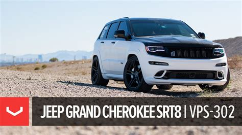 jeep srt modified jeep grand srt8 quot trooper quot vossen forged