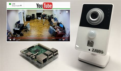cam video online raspberry pi ip camera youtube live video streaming server