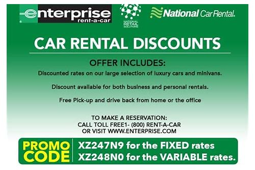coupons for enterprise rent a car