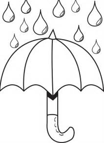 umbrella coloring page free coloring pages of umbrella