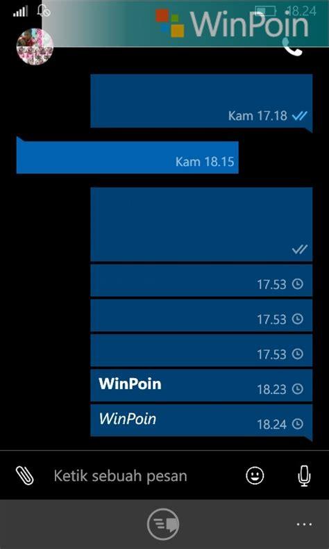format video windows phone cara mengubah format text whatsapp windows phone winpoin