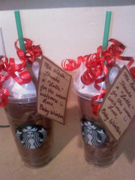 Wawa Gift Cards - teacher apreciation week starbucks gift card inside a starbucks cup filled with