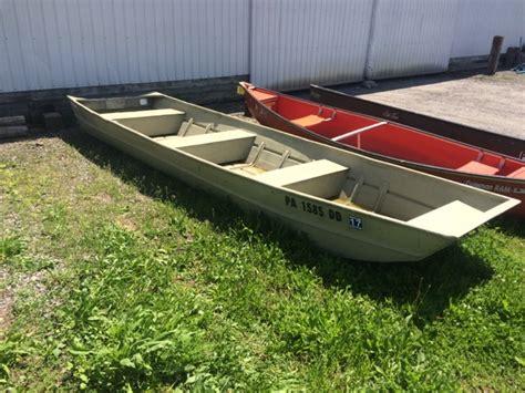 used jon boats for sale pa 1973 used sears 1632 jon boat for sale 495 milton pa