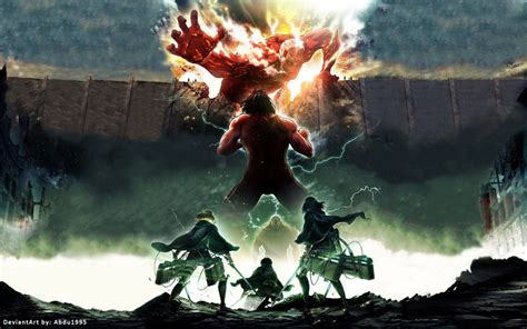 anoboy attack on titan season 2 attack on titans season 2 anime hd wallpaper by