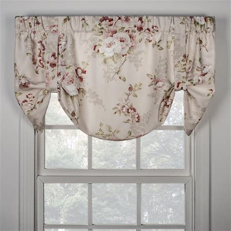Tie Up Curtains Chatsworth Tie Up Valance Available In 3 Colors Bestwindowtreatments