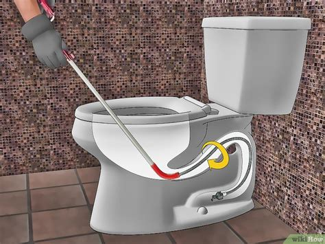 Wc Ontstoppen Pomp by Een Wc Ontstoppen Wikihow