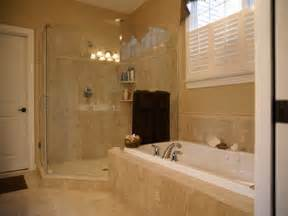 Small Master Bathroom Design Bloombety Master Bath Showers Remodeling Ideas Master