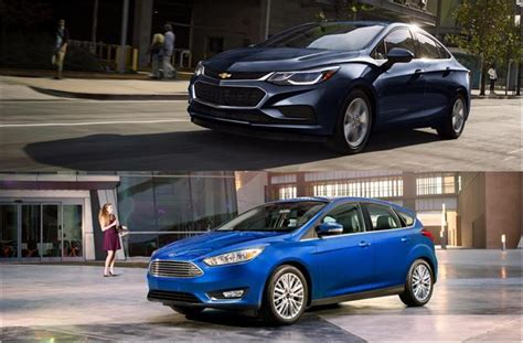 Ford Cruze by 2018 Chevrolet Cruze Vs 2018 Ford Focus To U