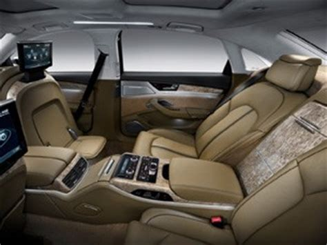 2011 audi a8 l arrives with 500 hp w12, seating for a king