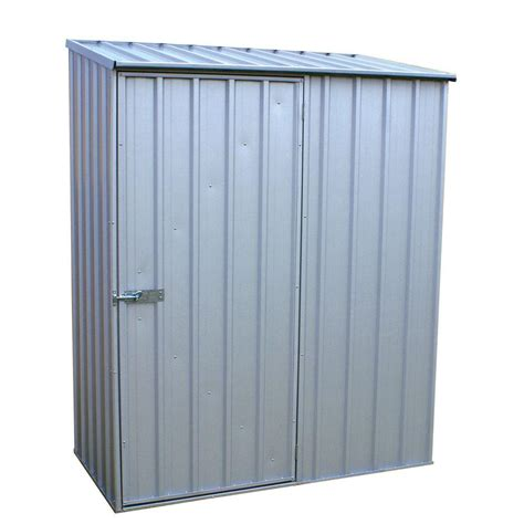 absco 5 ft x 3 ft spacesaver zincalume tool shed
