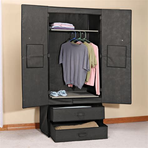 Wipeout Wardrobe by Clothing Wardrobe With Magnetic Doors Portable Wardrobe