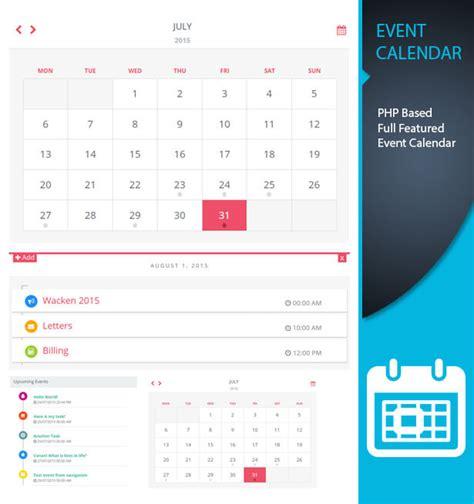 caledonian pro php event calendar thunderfury codecanyon