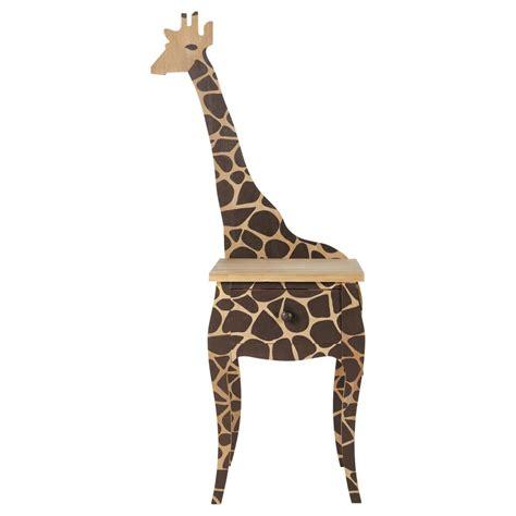 nachttischle kinder kinder nachttisch giraffe savane savane maisons du monde