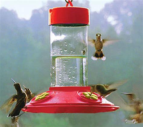 dr jb s clean 16oz hummingbird feeder all red w yellow petals