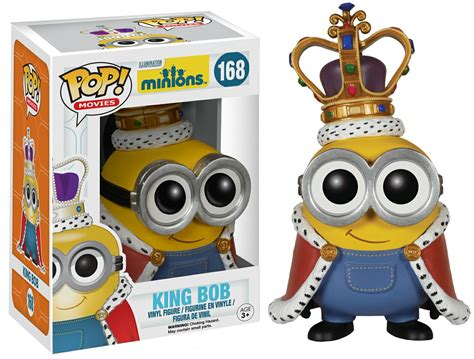 Original Funko Pop Minions Au Naturel Vynil Figure new yellow pop vinyls are just looking for a new evil master