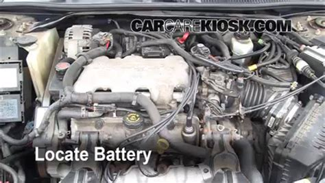 2003 chevy impala battery battery replacement 2000 2005 chevrolet impala 2001
