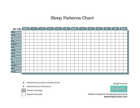 printable toddler sleep chart sleep chart gallery