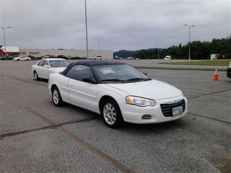 2004 Chrysler Sebring Gtc Convertible by Sell Used 2004 Chrysler Sebring Gtc Convertible 2 Door 2