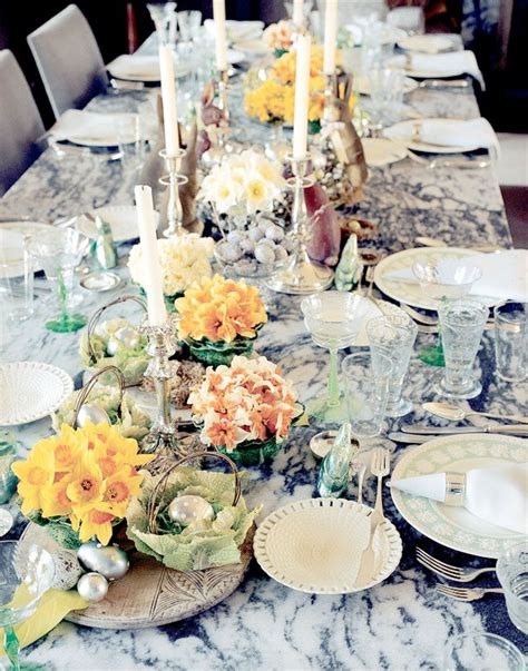 exclusive martha stewart shares her easter entertaining