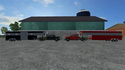 gooseneck trailers version v1 mod farming simulator 2015