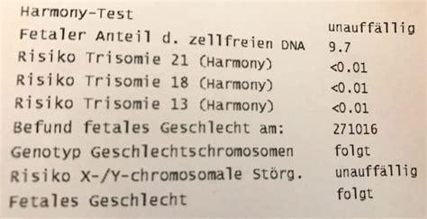 harmony test harmony pr 228 natal test screening in der schwangerschaft