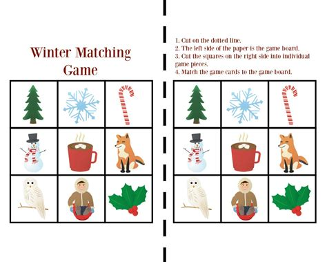printable winter board games printable winter games for toddlers views from a step stool