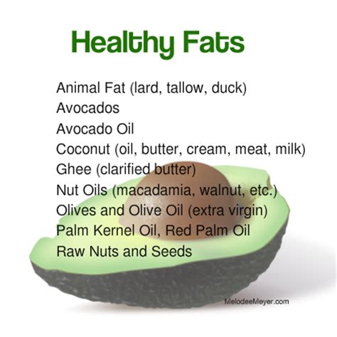 a list of healthy fats big lies about your diet lie 1 master mel