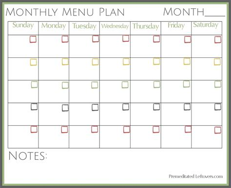 this months meal plans freezeasy