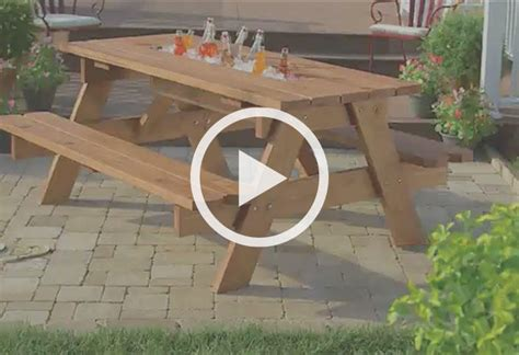 how to build a picnic table plans 20 free picnic table plans enjoy outdoor meals with