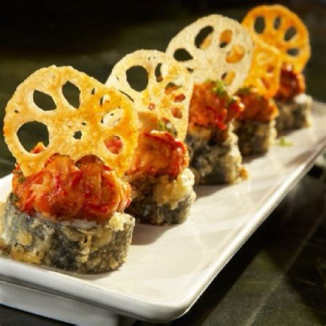 Kani Roll Crab Roll By Roku Bento ra sushi plano at the shops at legacy wine and dine