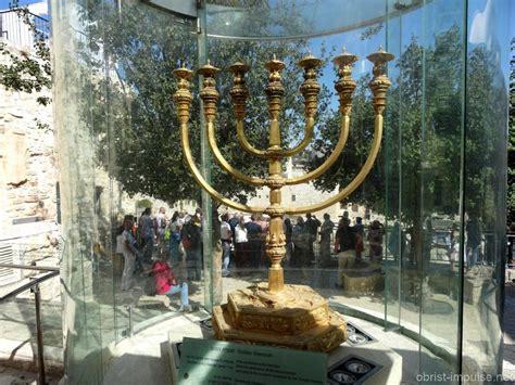 die menora der siebenarmige leuchter - Kronleuchter Judentum