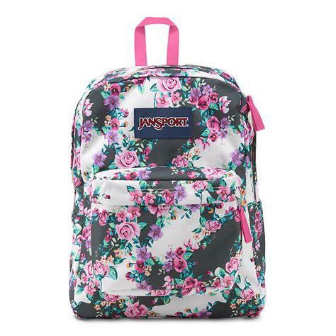 Ransel Mini Jansport Black Flower floral jansport backpack www imgkid the image kid