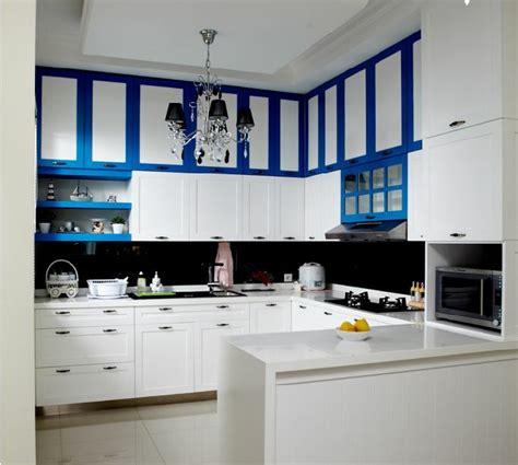 Kabinet Atas Kitchen Set Desain Dapur Kabinet Dapur Interior Dapur Model