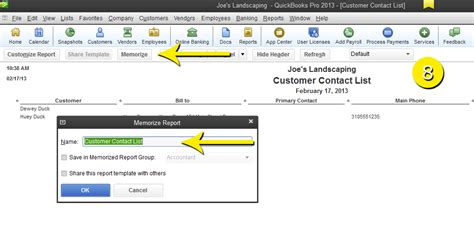 quickbooks tutorial reports free quickbooks tutorials create a report to include