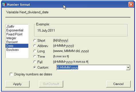 date format int php date formats analytica wiki