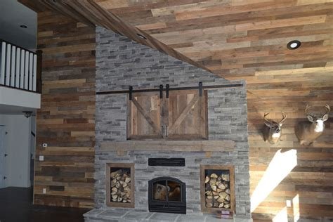 accent wall paneling idaho barn wood blend reclaimed contemporary barn board paneling within ceiling panels 4x8
