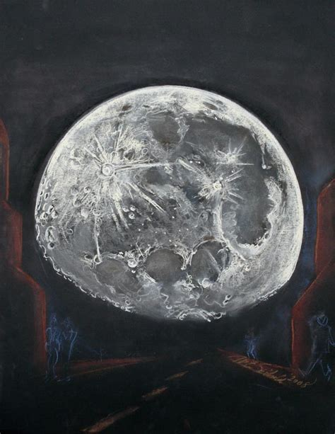 Sketches Moon by Big Moon Illusion Astronomy Sketch Of The Day